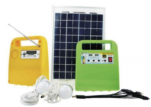 DC Solar Lighting System