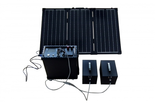 Solar Portable Emergency Survival System-LCD Version