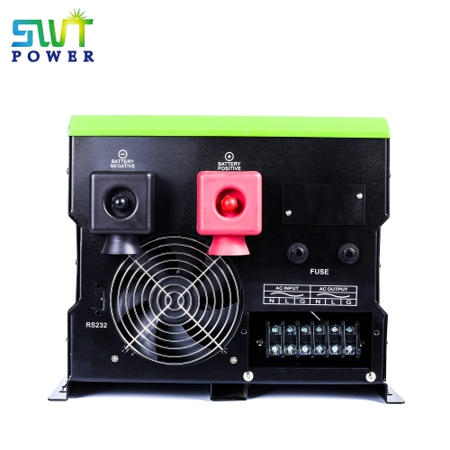 New about Off Grid Inverter 2000W can adjust the voltage of the solar battery  (Hybrid inverter with controller)