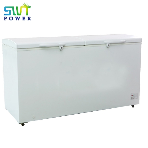2 door DC Portable Chest Freezer