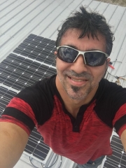2000W  Hybrid Inverter Roof Construction Project In US