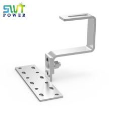 Adjustable height tile hook